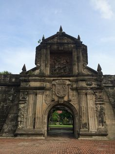 """A lot had happened here at For Santiago. Prayed for the spirits, and played them a song by Sarah Mclachlan """"Angels"""". I felt they liked it. Philippines Culture, Manila Philippines, Fort Santiago, Jose Rizal, Philippine Art, Intramuros, Filipino Culture, Look At The Sky, Walled City"""