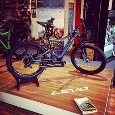 Instagram picutre by @chuggychugchug: Levo! Specialized Turbo Levo FSR. Concept Store Stafford #specialized #turbo #levo #stumpjumper #fsr #mtb #ebike #275 #6fattie #iamspecialized #iamspecialized_mtb - Shop E-Bikes at ElectricBikeCity.com (Use coupon PINTEREST for 10% off!)