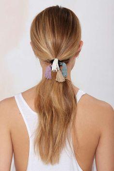 Veronica Tassel Hair Tie Set