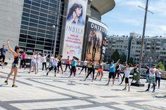 Urban Fitness by Jasmina Aleksandrov @ južni plato Kombank Arene 9. maj 2015.   Photo: Aleksandar Dmitrović Urban Fitness, Times Square, Travel, Viajes, Destinations, Traveling, Trips
