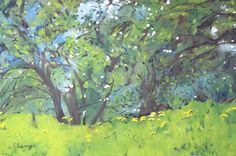François Fournier Canadian Impressionist  http://francoisfournierart.com/  This painting depicts an old flowering apple tree in the Eastern Townships of Quebec, Canada.