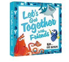Finding DORY Coloring Book For Adults Fun Relax Let's Get Together With Friends