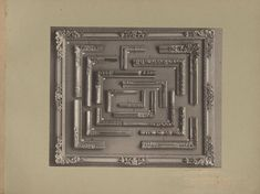 Metropolitan Museum of Art Robert Lehman Collection Library Early Photography Trade Catalogs and Manuals #frames #framemanufacturing #pictureframes #tradecatalogs Digital Archives, New Words, Metropolitan Museum, Picture Frames, History, Antiques, Pictures, Photography, Collection