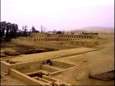 The temple of Pachacamac is an archaeological site 40 km southeast of Lima in the Valley of the Lurín River. Most of the buildings and temples were built c. 800-1450 CE, shortly before the arrival and conquest by the Inca Empire.