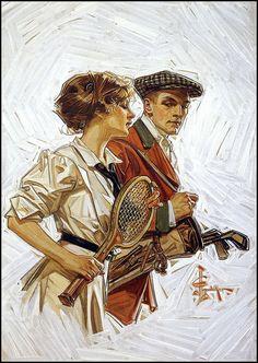 Illustration  by  JC Leyendecker
