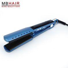 23.69$  Buy now - High quality professional Nano Titanium Hair Straightener Flat iron Iron adjust temperature wet and dry Fast Heat Not hurt hair  #buyonlinewebsite