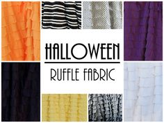 Ruffle Fabric by the Yard LOTS of Colors by ashleyNEF on Etsy, $14.50