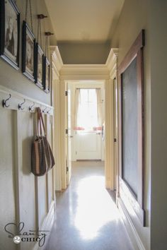 I like the way the door molding and especially the crown molding were done where these three doors meet.  Nice idea!