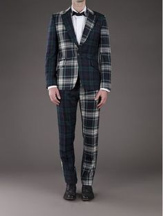The Flashy Holiday Suit Vito Plaid Suit Jacket in Slim Fit ...