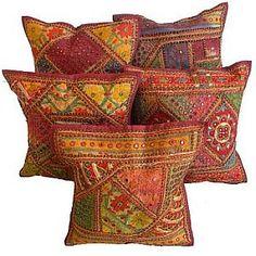 Bohemian indian cushion covers