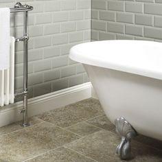 metro tiles | Tiles > Bathroom Tiles > Metro Sage Wall Tile 10x20cm
