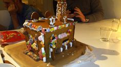 Me and my friends awesome gingerbread house.