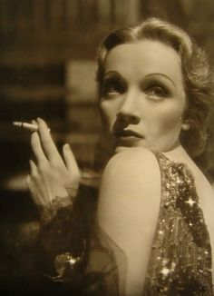 """Darling, the legs aren't so beautiful, I just know what to do with them.""     - Marlene Dietrich"