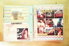 Simple Stories Album from the Snap Studio Collection  Saturated canary digis 4-5-13