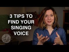 3 Tips To Find Your Voice (For Singers) - Felicia Ricci - (More info on: http://LIFEWAYSVILLAGE.COM/how-to/3-tips-to-find-your-voice-for-singers-felicia-ricci/)