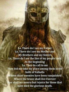 Viking Prayer