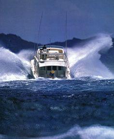 Bertram 46 Bob Gelberg Photo #sportfishing #yacht