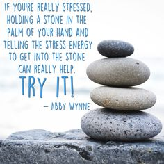 For more stress tips from Abby Wynne, read her article How To Beat Stress With Energy Healing here: http://www.healyourlife.com/how-to-beat-stress-with-energy-healing