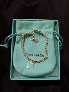 Tiffany OFF! New Return to Tiffany mini heart bead bracelet Never worn! Comes with the box and baggy! Dainty Jewelry, Cute Jewelry, Luxury Jewelry, Jewelry Accessories, Chunky Jewelry, Vintage Jewellery, Antique Jewelry, Tiffany And Co Jewelry, Tiffany And Co Bracelet
