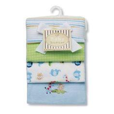 Safari Receiving Blankets - Boy $24.50