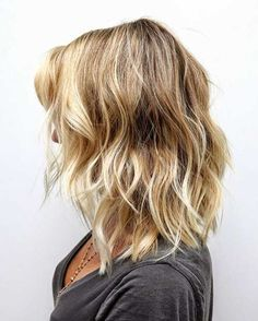 Corto de longitud media Cortes de pelo