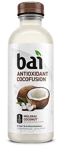 Bai CocoFusion Molokai Coconut. Yummy. A healthy coconut drink that I actually really liked!