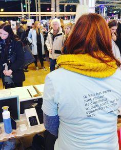 Nog tot vijf uur kun je shoppen op dr @swan_market in Rotterdam! #woordkunsten #swanmarket