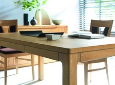 Wooden table from Oleo collection - designed by Klose #woodentable #solidwood #KloseFurniture #diningroom