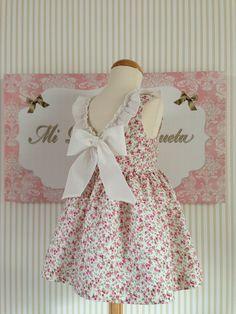 Favorecedor vestido niña para el verano!