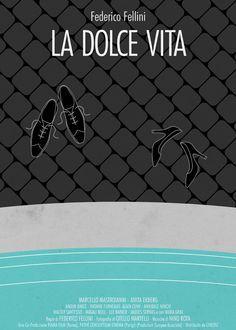 LA DOLCE VITA - Federico Fellini (1960) / Artwork by Federico Mancosu