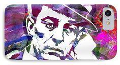 Joseph Frank uster Keaton IPhone 7 Case featuring the painting Buster Keaton by Otis Porritt