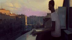 Surreal Digital Art by Sergey Kolesov Environment Concept, Environment Design, Illustrations, Illustration Art, Sergey Kolesov, Ufo, Street Art, Ouvrages D'art, Matte Painting