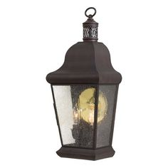 The Great Outdoors by Minka Lavery Glen Allen 2 Light Pocket Outdoor Sconce