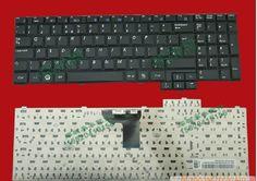Samsung RV510 Laptop Keyboard UK Keyboard Black