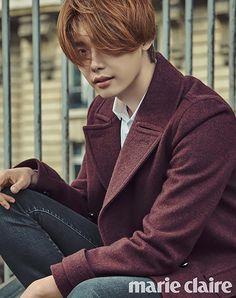 Lee Jong Seok's Wet Autumn Tour of Paris for Marie Claire Korea's November 2015 Issue   Couch Kimchi