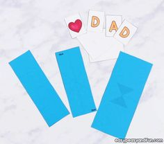Threat the dad of the house with an amazing Father's day card. This Twist and Diy Father's Day Gifts Easy, Father's Day Diy, Pop Up Card Templates, Wall Hanging Crafts, Ribbon Yarn, Fathers Day Presents, Dad Day, Card Making Techniques, Pop Up Cards