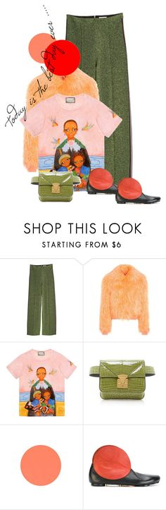 """""""Без названия #2333"""" by vinograd24 ❤ liked on Polyvore featuring Sies Marjan, Gucci and Marsèll"""