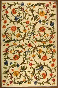 Looks like the traditional Crane Paper pattern. —Juliette Rug
