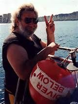Diving in Hawaii circa 1990 | Jerry Garcia