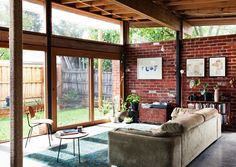 I love the modern elements of this space without feeling cold and uninviting