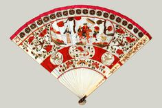 Fan Museum, UK  'White Devils', Chinese for export c.1700