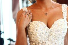 Pearl Crystal Sweetheart Backless Ball Gown Wedding Dress - My Wedding Ideas