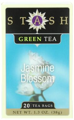 Stash Tea Jasmine Blossom Green Tea, 20 Count Tea Bags in Foil (Pack of 6) ** Check this awesome product by going to the link at the image.