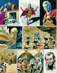 #03 (132) Don Lawrence - Trigan- Originalseite - Oorlog met Hericon - (1967)