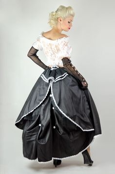 Womens neo victorian outfit