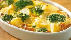 Gegratineerde ovenschotel met broccoli en Maredsous | VTM Koken
