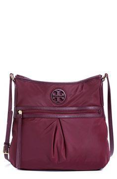 Tory Burch Nylon Swingpack In Port Tory Burch, Nylon Bag, Travel Bags, Crossbody Bag, Nordstrom, Zip, Handbags, Purses, Shoe Bag