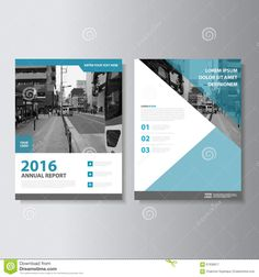 Blue Vector Magazine Annual Report Leaflet Brochure Flyer Template Design, Book Cover Layout Design - Download From Over 43 Million High Quality Stock Photos, Images, Vectors. Sign up for FREE today. Image: 67630617