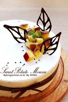 고구마무스 케이크