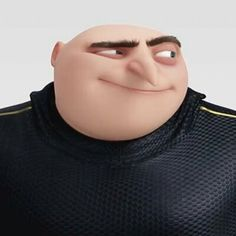 Animation Movies, 3d Animation, Gru And Lucy, Gru Memes, Pierre Coffin, Despicable Me Gru, Orphan Girl, Russell Brand, Steve Carell